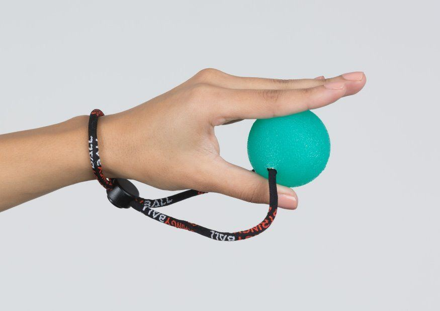 Squeeze Ball Exercise Pinch