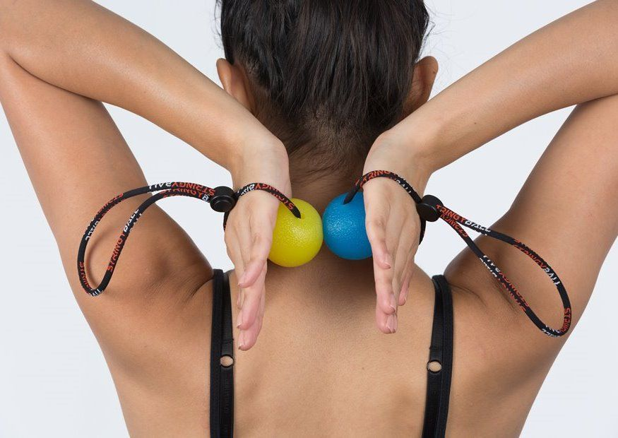 Squeeze Ball Exercise Shoulder Squeeze