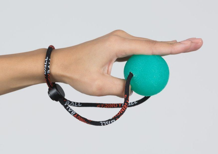 Squeeze Ball Exercise Thumb Extend
