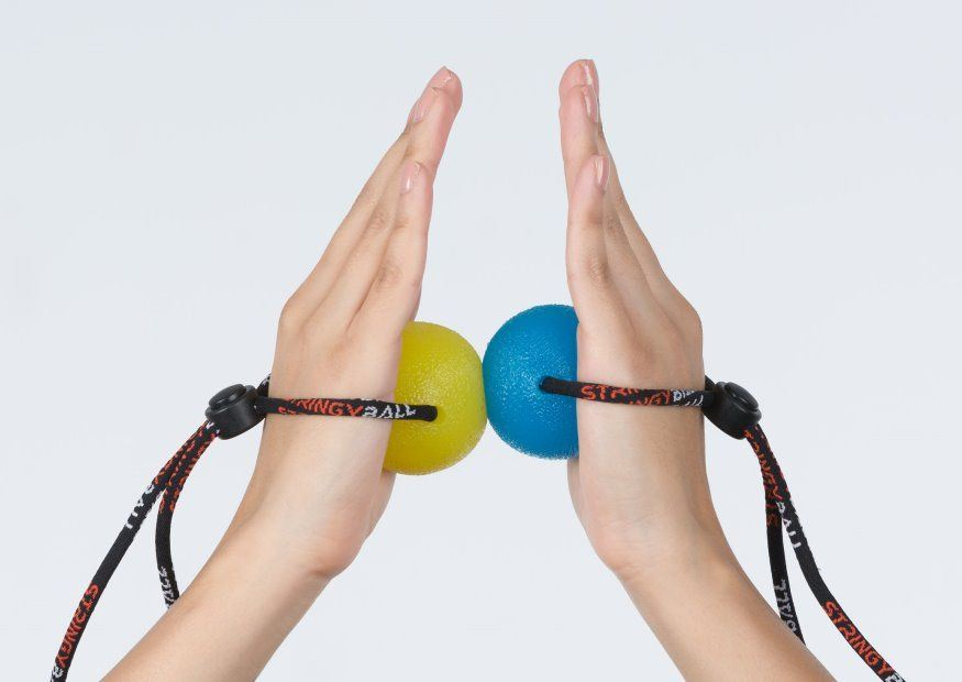 Stress Ball Exercise Arm Squeeze