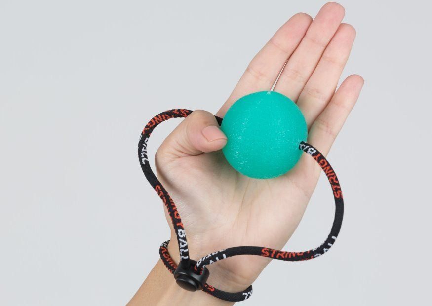 Stress Ball Exercise Opposition