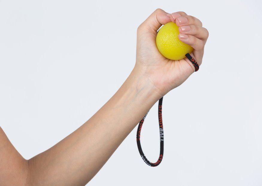 Stress Ball Exercise Tight Grip
